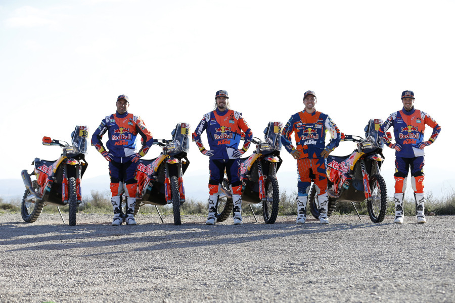 Red Bull KTM Rally Factory Racing - Team shooting 2018