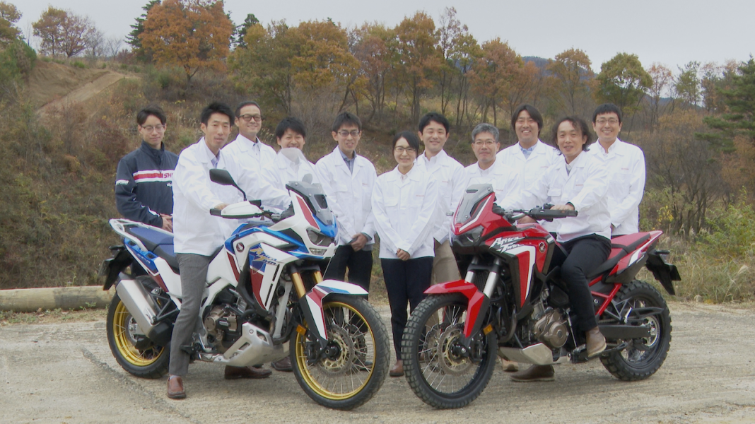 Honda CRF1100L/CRF1100L Adventure Sports製品説明会